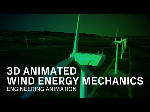 Wind and Solar Architecture - Engineering Animation