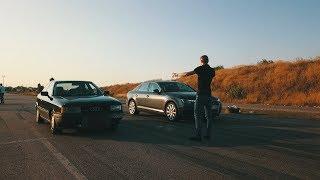 Audi  80  в деле .  Технологии не помогут ...