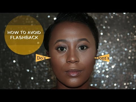Do's and Dont's | How To Avoid Flashback | Makeup Like A Pro.