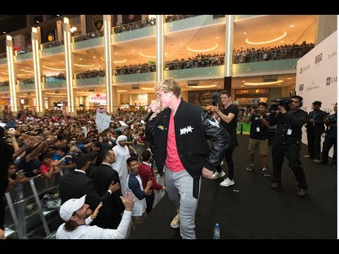 360° Video: Logan Paul at Dubai Mall!!