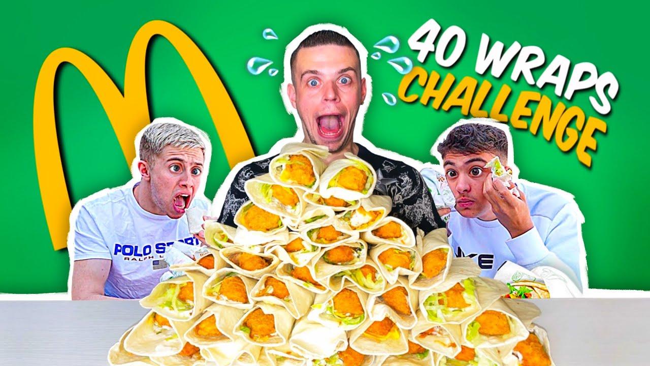 Download WRAPS P'TIT RANCH MCDO CHALLENGE !! Combien vais-je en Manger ? (J'atomise Michou et Inoxtag ^^)