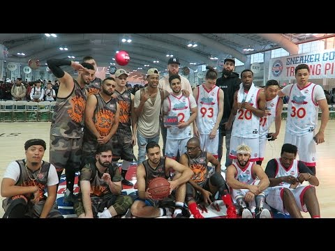 YOUTUBE ALL STAR BASKETBALL GAME!!