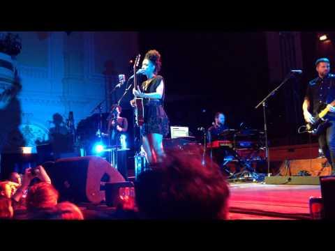 Lianne La Havas in het Concertgebouw, Amsterdam