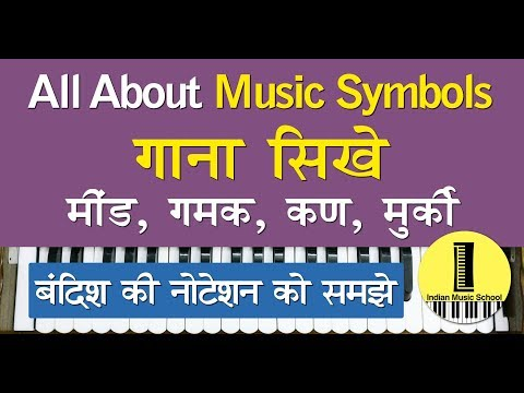 Basic Music Keywords | How to Read Notation in Indian Classical Music | बंदिश की नोटेशन पढ़ना सीखे