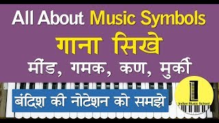 Basic Music Keywords | How to Read Notation in Indian Classi...