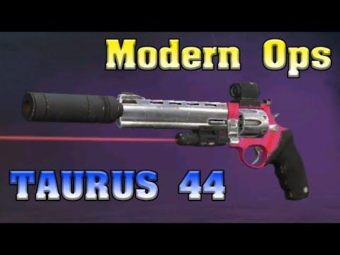 Обзор TAURUS 44 и Открытие Кейсов в Modern Ops Online FPS! Шутер на андроид
