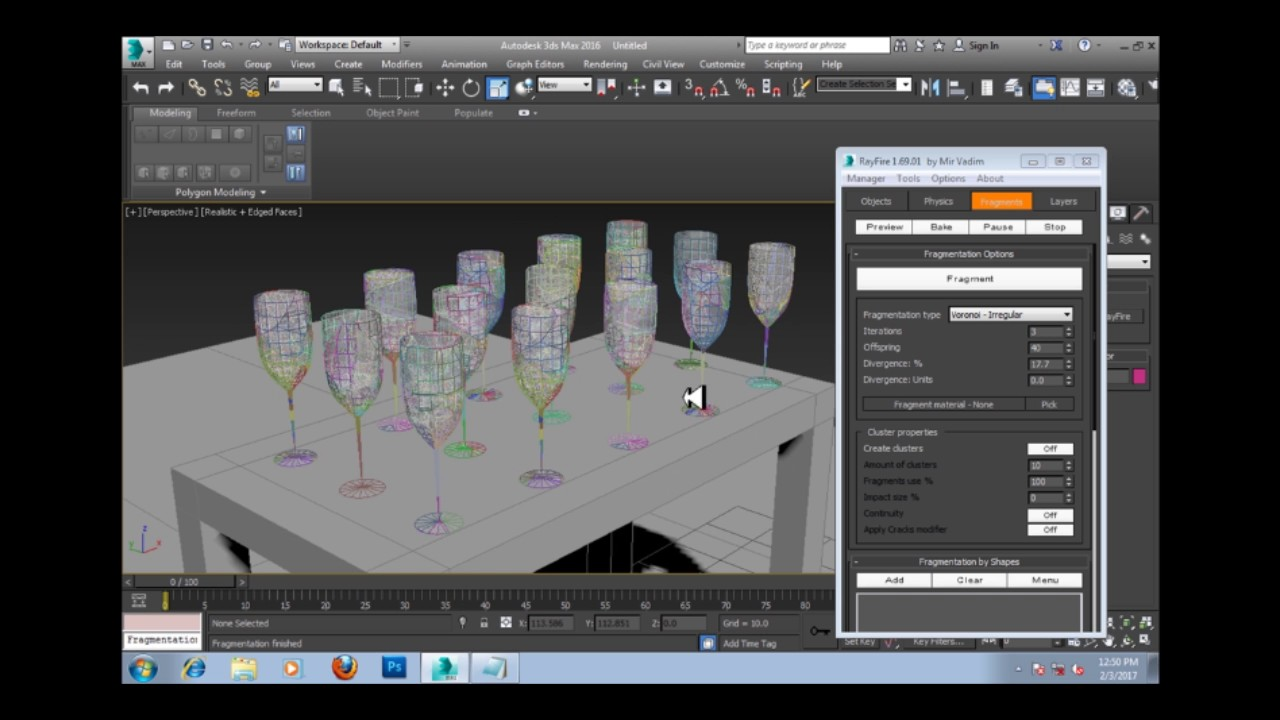 Rayfire 3ds max