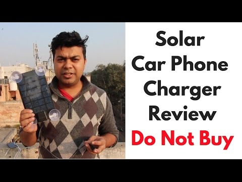 Why You Should Not Buy This Solar Car Phone Charger, Worth or Not | Gadgets To Use #1