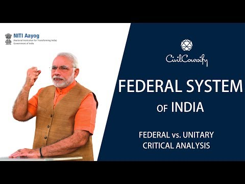 india has a federal form of Why india adopted the parliamentary system of government india adopted the parliamentary system of india has had a federal form of.