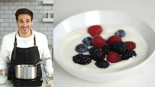 Easy Homemade Yogurt - Kit¢hen Conundrums with Thomas Joseph