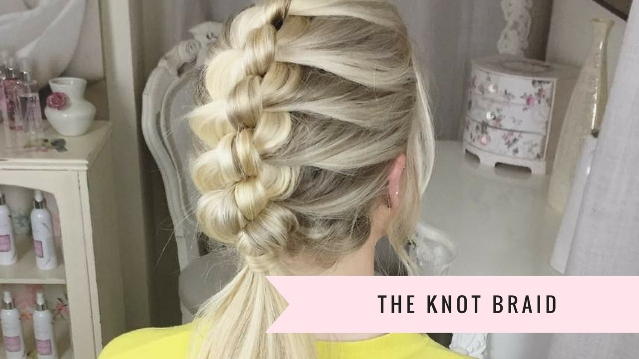 How To Knot Braid By Sweethearts Hair Youtube