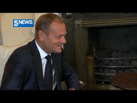 Donald Tusk tells Theresa May: The ball is in your court