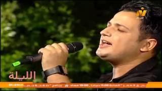 فيديو.. سامح عامر يطرب الجمهور بأغنية 'أنا وأنت' للهضبة خلال برنامج 'الليلة'