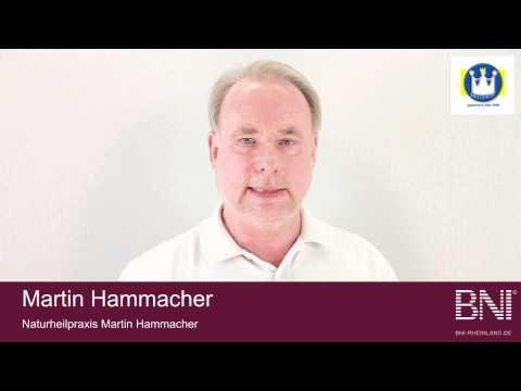 Unternehmervorstellung BNI-Melchior - Martin Hammacher - Naturheilpraxis Düsseldorf & Köln