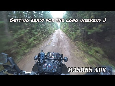 Getting ready for the long weekend   KLR 650