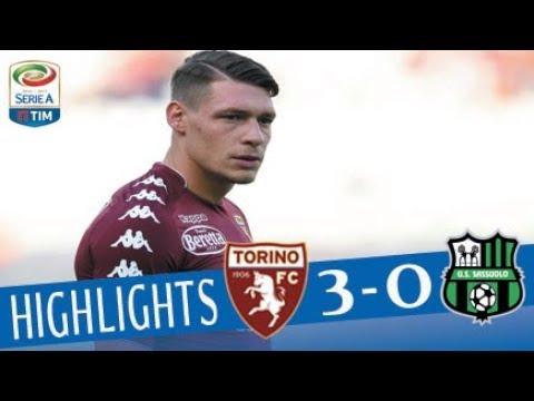 Torino - Sassuolo - 3-0 - Highlights - Giornata 2 - Serie A TIM 2017/18