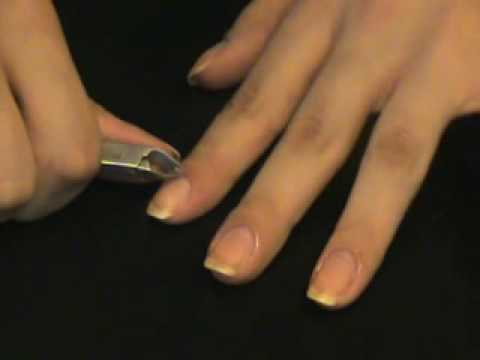 How I Clean My Nails Nail Art Tutorial