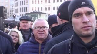 """""""Einzelne Versammlung oder versammelten Einzelne?""""  13 02 2017 Polizei verweist friedliche und leise"""