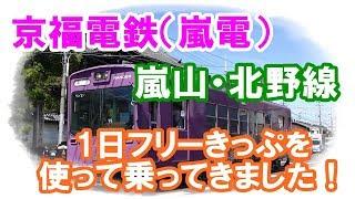京福電鉄(嵐電)嵐山線・北野線