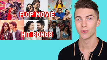 VOCAL COACH Reacts to Flop Bollywood Movies That Have Hit Songs (Flop Movie Hit Songs)
