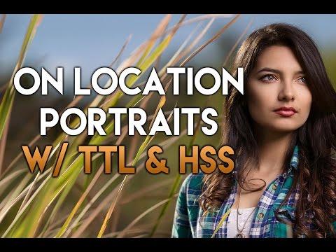 Portrait Photography w/ the XPLOR 600 TTL, Canon 6D, & 135L using High Speed Sync (HSS) + TTL