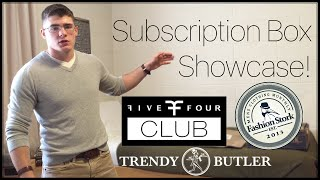 Subscription Box Showcase | Five Four Club vs Trendy Butler vs Fashion Stork | Prodigy Within Me