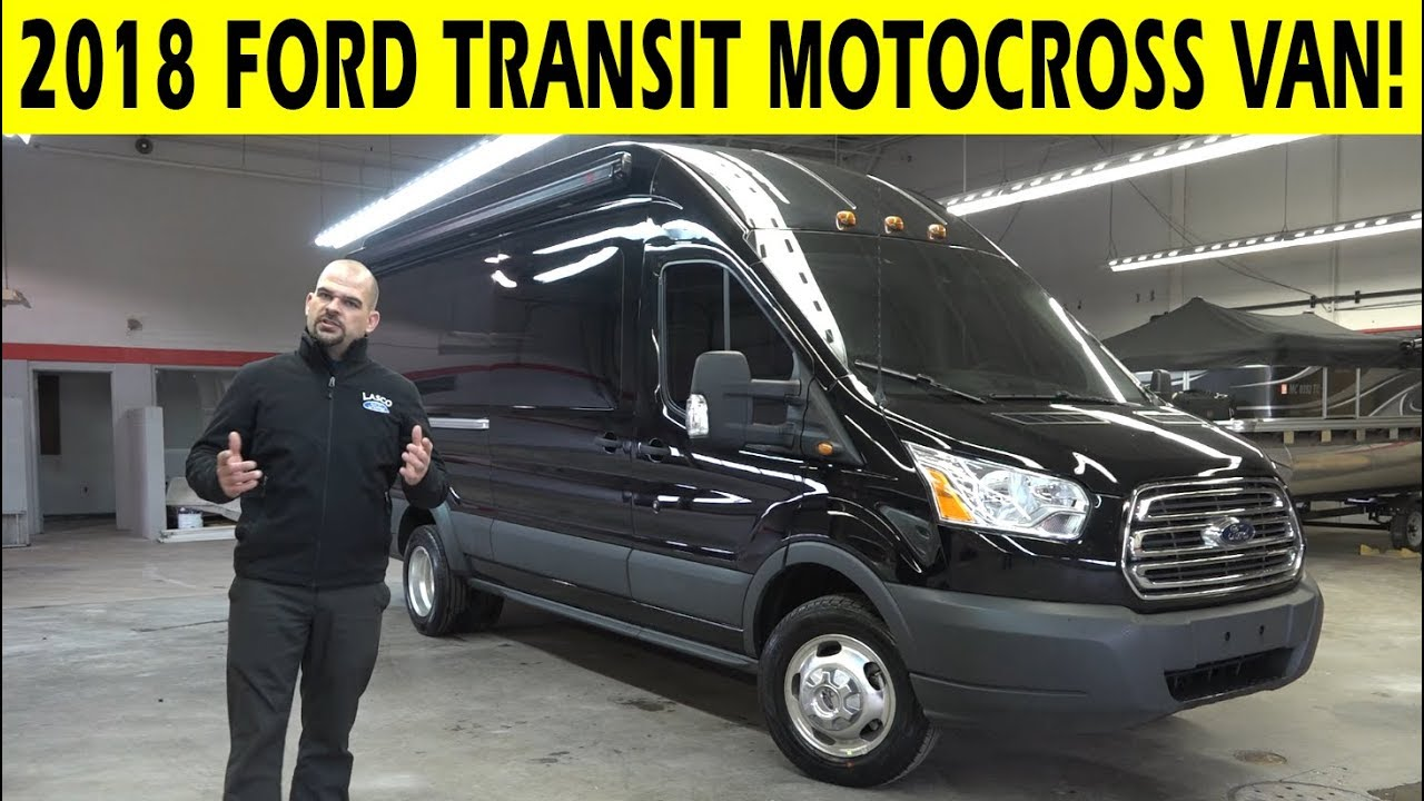 2018 ford transit motocross van conversion