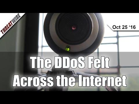 IoT DDoS on DynDNS Takes Down the Internet!? - Threat Wire