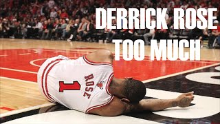 Derrick rose - too much - 2015 season mix ᴴᴰ
