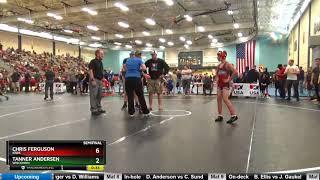 Schoolboy 102 Chris Ferguson Iowa Vs Tanner Andersen Wisconsin