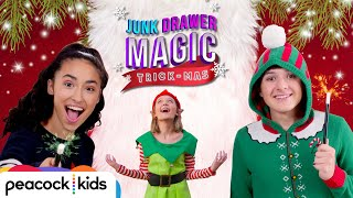 The Race to Save Christmas from an Evil Elf! | JUNK DRAWER MAGIC