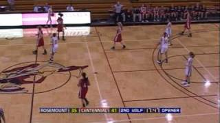 High School Girls Basketball: Rosemount vs. Centennial