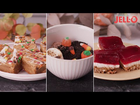 People Make Three Fall Desserts With JELL-O // Presented by Jell-O