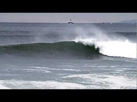 El Porto Surfing with Offshore Winds