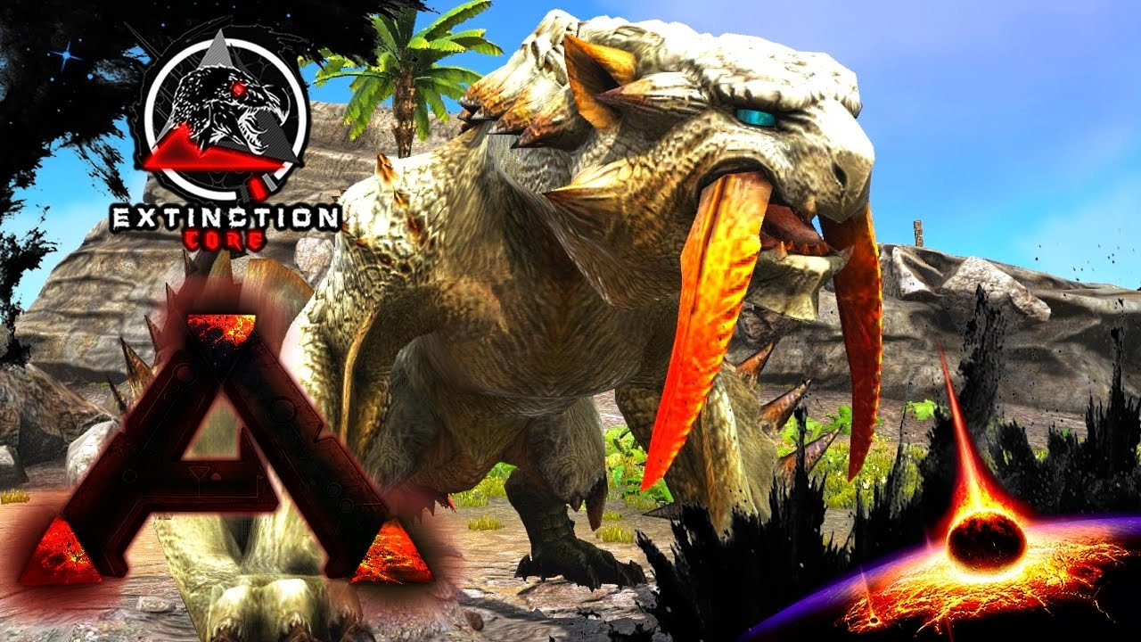 MODDED ARK: Extinction Core :: Ep 13 :: BARIOTH THE ...