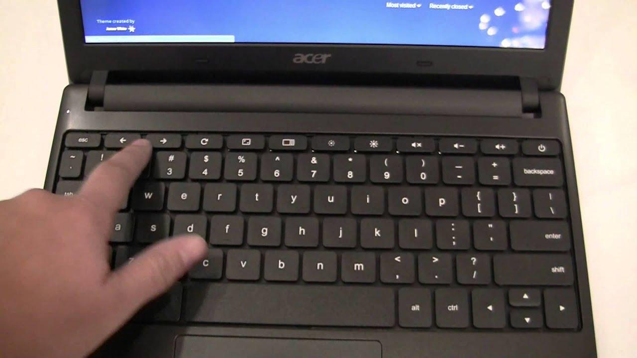 Acer Chromebook AC700 Hands On - YouTube