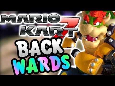 Mario Kart 7 BACKWARDS! (Nitro Tracks)