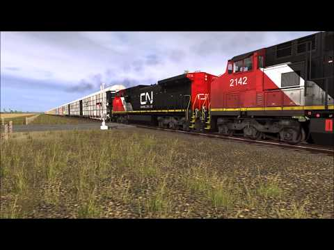 Trainz A New Era : CN/IC Railfanning