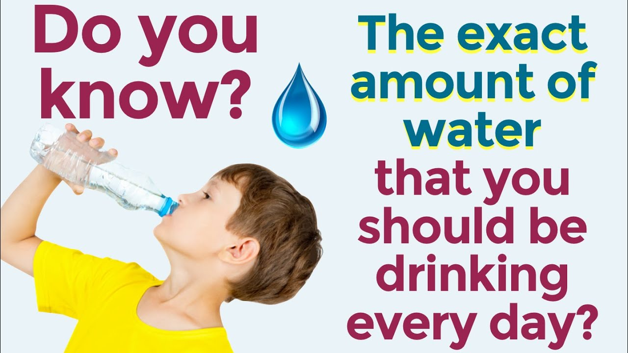How Much Water Should A Child Drink Everyday