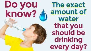 How much water should you really drink every day? Recommended Daily Water Intake for Hair Loss