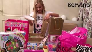 Мои подарки на День Рождения. Мой день рождения летних именинников в школе. Что мне подарили на ДР(Мой instagram - http://instagram.com/barvinam facebook - https://www.facebook.com/barvinam Мой День рождение летом, в августе. В моей школе..., 2015-10-09T23:48:56.000Z)
