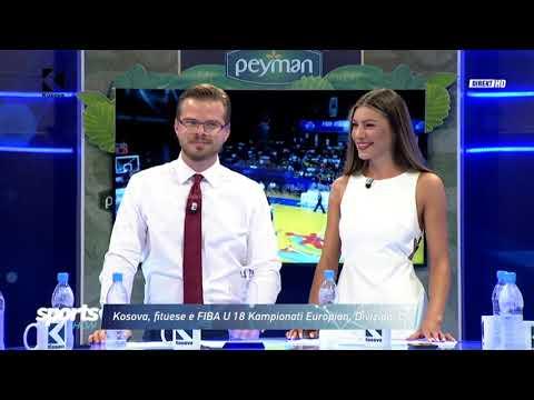 Kosova U 18, arrin sukses historik në basketboll - 30.07.2018 - Klan Kosova