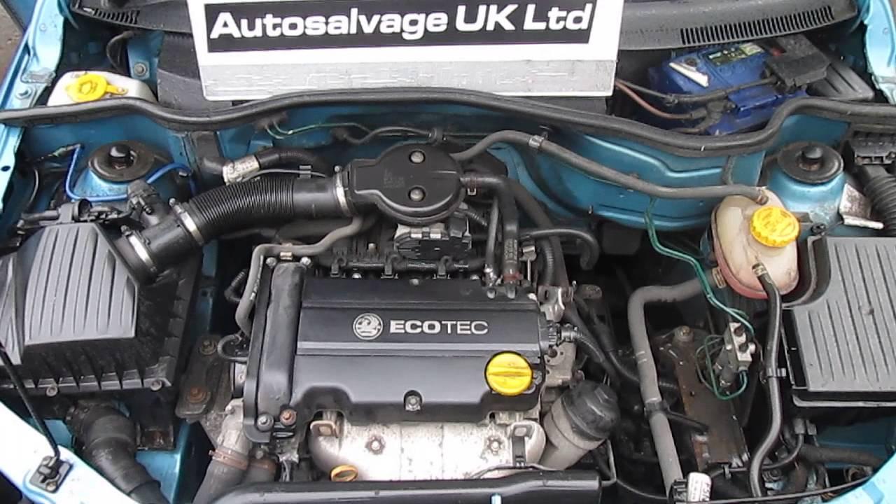 Vauxhall Corsa D 1 2 16v Petrol Engine