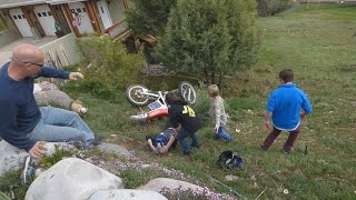 MOMMY CRASHED A DIRT BIKE ON MOTHER 39 S DAY
