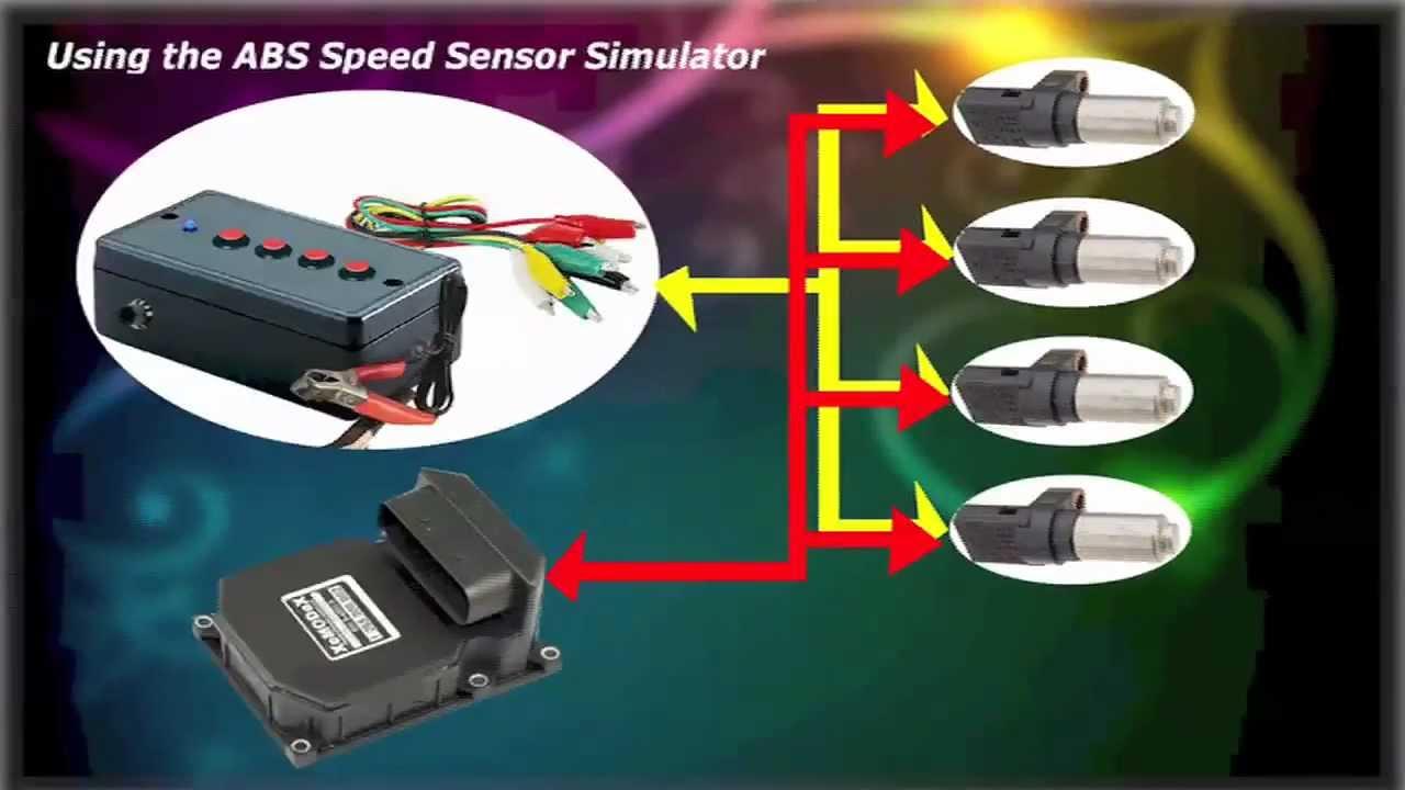 Abs Speed Sensor Simulator How To Use Youtube