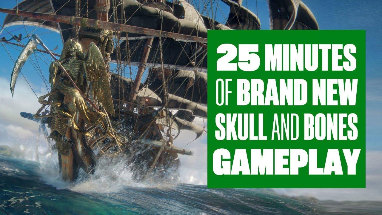 25 Minutes Of Skull and Bones Gameplay - SEA DAD GOES WILD AT SEA