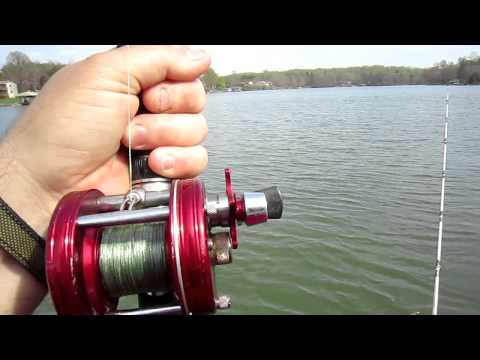 Planer Board Fishing For Striper Smith Mountain Lake Va.