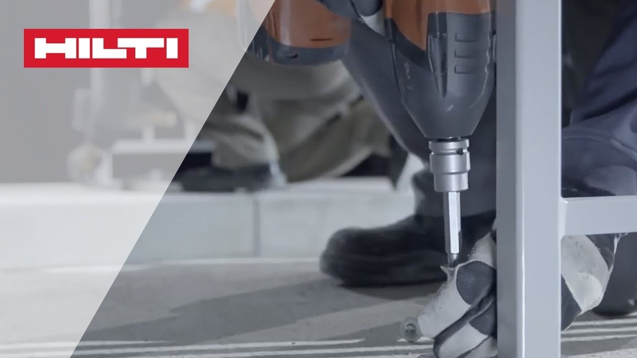 Hilti - New HUS3: the adjustable screw anchor (English)