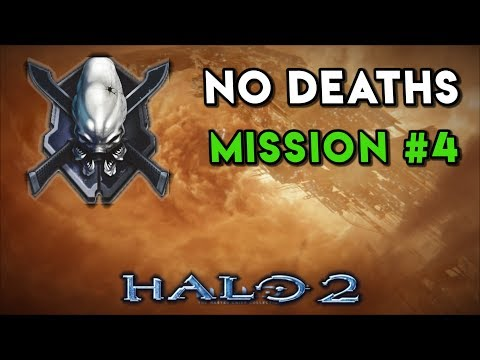 Halo 2 LEGENDARY NO DEATHS Walkthrough ► Mission #4 The Arbiter