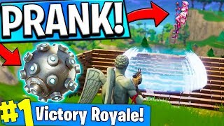 PRANKING JEROMEASF In Fortnite Battle Royale!!